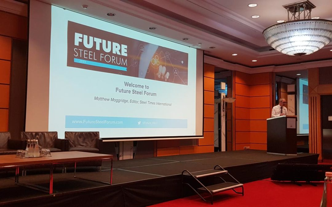 Luxmet present at the Future Steel Forum in Budapest